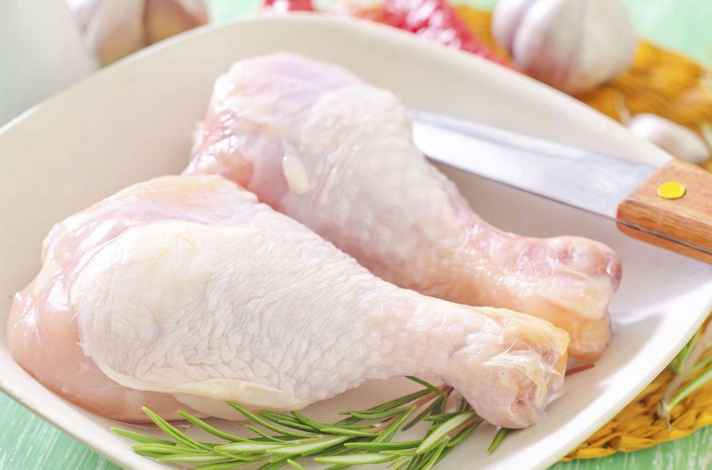 ayam mentah