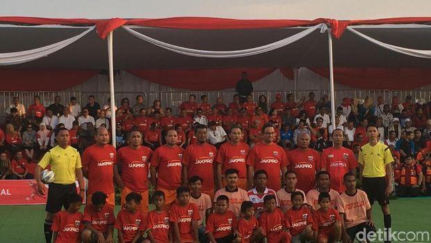 Tendang Bola, Anies Mulai Pembangunan Jakarta International Stadium