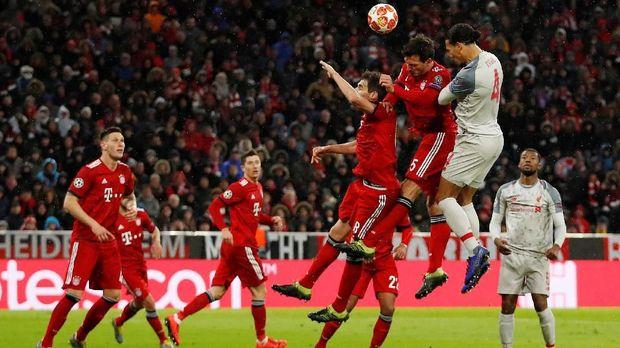 Liverpool menang agregat 3-1 atas Bayern Munchen di 16 besar Liga Champions.