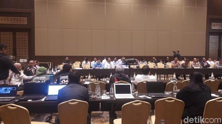 KPU Gelar Rapat Persiapan Final Debat Ketiga