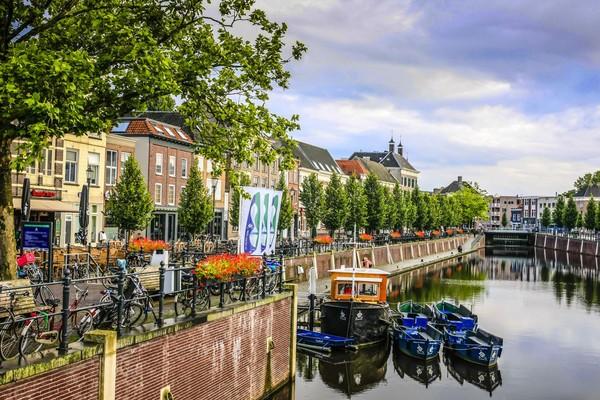 Sama seperti Amsterdam, Breda punya kanal yang cantik (iStock)