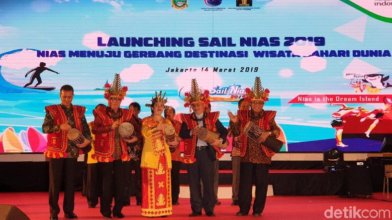Foto: Launching Sail Nias 2019 (Masaul/detikTravel)