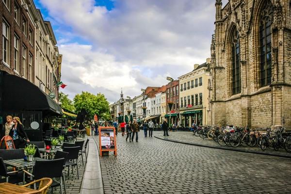 Breda dihuni oleh sekitar 174 ribu orang, yang berlokasi 100 km ke arah selatan dari Amsterdam (iStock)