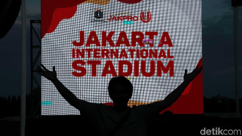 Anies: Jakarta International Stadium Setara Milik MU dan Real Madrid