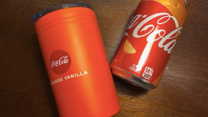 coca cola rasa jeruk vanilla