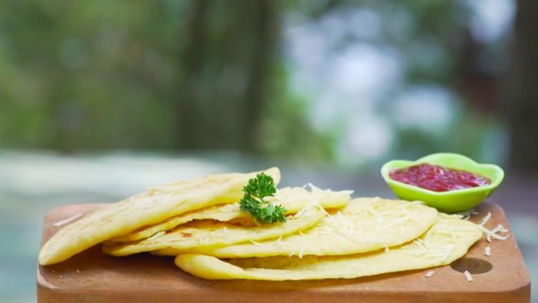Resep cheese pan bread/ Foto: Semua Bisa Masak Trans TV