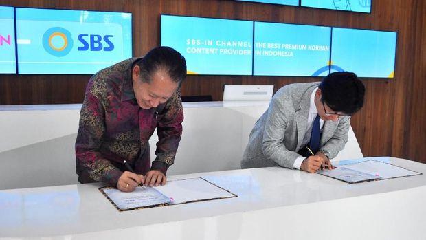 SBS Korea Tunjuk Transvision Jadi Distributor Resmi di RI