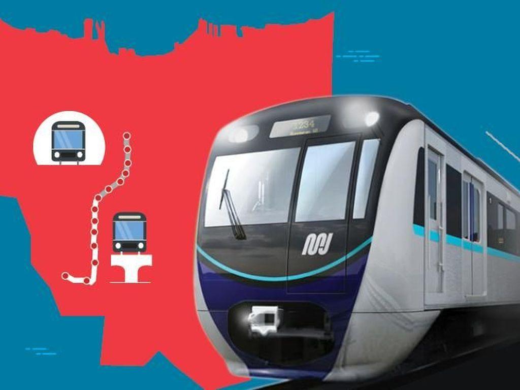 Wisata MRT Jakarta