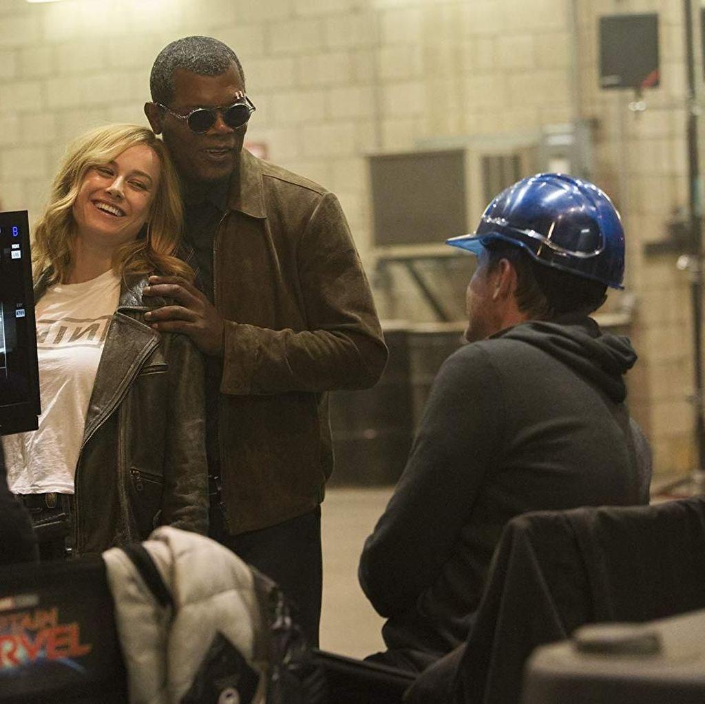 Sutradara Captain Marvel Gabung MCU Hanya Karena Brie Larson