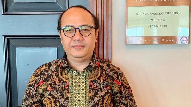 Lembaga survei Konsep Indonesia (Konsepindo Research and Consulting) merilis hasil survei elektabilitas pasangan calon presiden dan wakil presiden di kalangan santri.