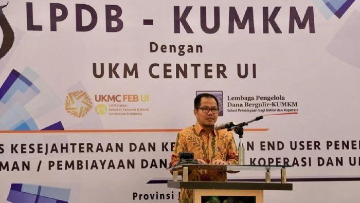 Dirut LPDB KUMKM Braman Setyo/Foto: Dok LPDB