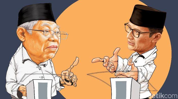Ilustrasi debat cawapres/Foto: Edi Wahyono