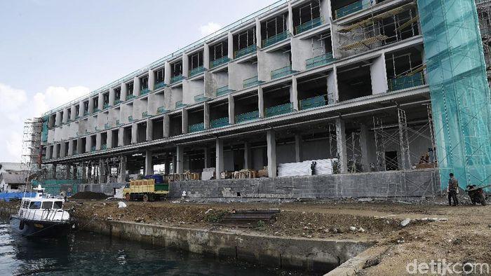 Ilustrasi Pembangunan Hotel/Foto: Dikhy Sasra