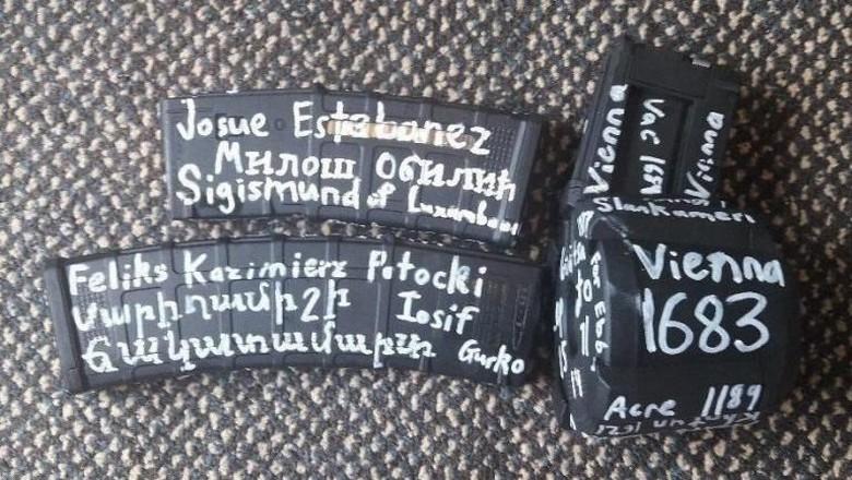 Senjata Pelaku Teror Masjid di New Zealand Bertuliskan Nama-nama, Ini Artinya