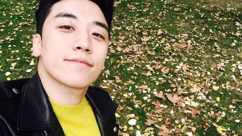 Idol tampan, Seungri Bing Bang sedang tersandung masalah prostitusi. Dia dulu pernah liburan ke Bali lho. (seungriseyo/Instagram)
