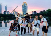 Saat berada di China untuk syuting. (seungriseyo/Instagram)