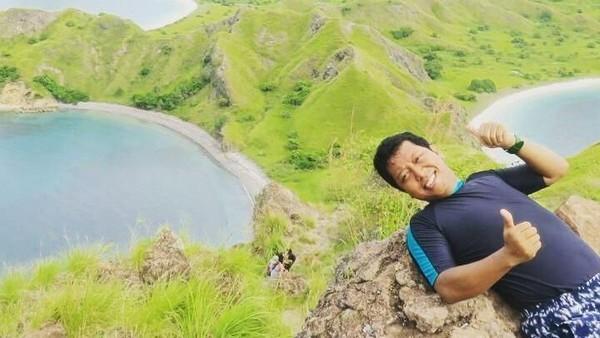 Rommy juga pernah ke Pulau Padar, NTT (romahurmuziy/Instagram)