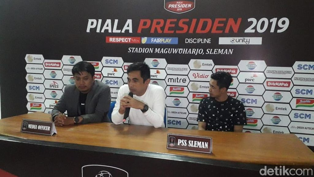 Pelatih PSS Sleman : Selamat Persija Lolos Perempatfinal