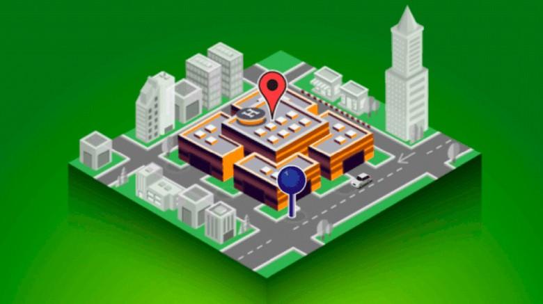 Sistem pemetaan Grab/ Foto: Grab