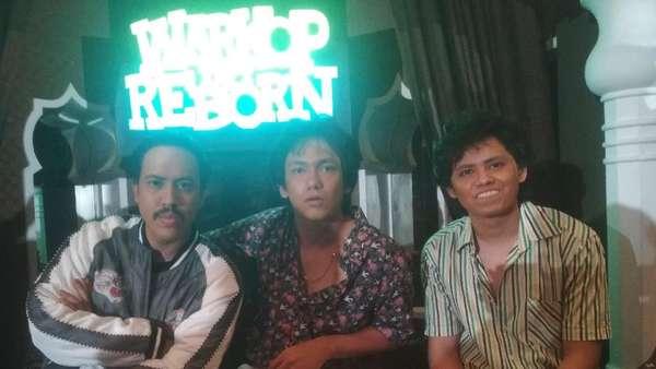 Begini Penampilan Aliando, Adipati dan Randy Nidji di Warkop DKI Reborn