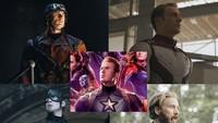 Adapula yang merangkum penampilan Captain America dalam berbagai kostum.Dok. Twitter