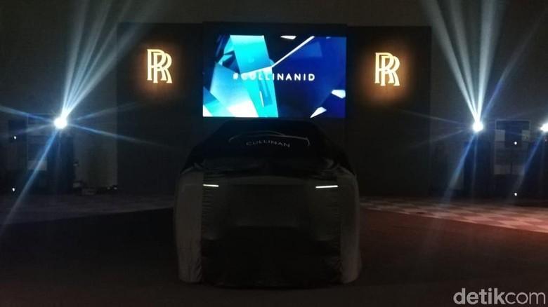 Rolls-Royce Cullinan Foto: Rizki Pratama/detikOto