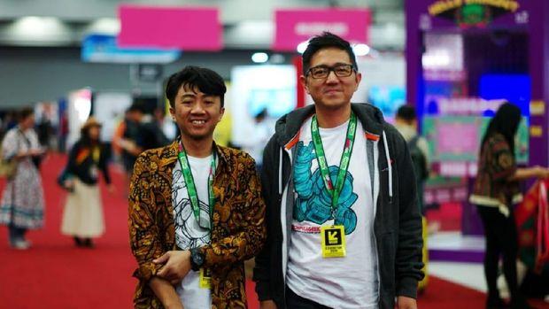 Co-Founder MTarget Masas Dani dan Founder & CEO MTarget Yopie Suryadi.