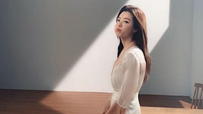 Aktris Korea Park Han Byul yang suaminya terlibat skandal prostitusi. Foto: Dok. Instagram/onestar_p