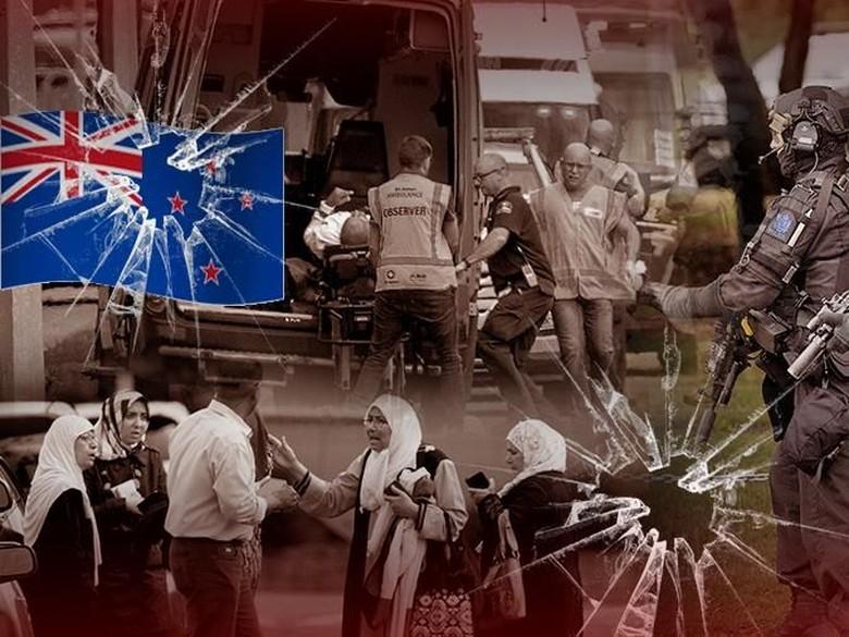 Foto: Ilustrasi fokus (bukan buat insert) Teroris Masjid Selandia Baru (Andhika Akbaryansyah/detikcom)