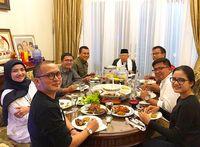 Hobi Gelar Jamuan Makan di Rumah, Ini Menu Suguhan Ma'ruf Amin