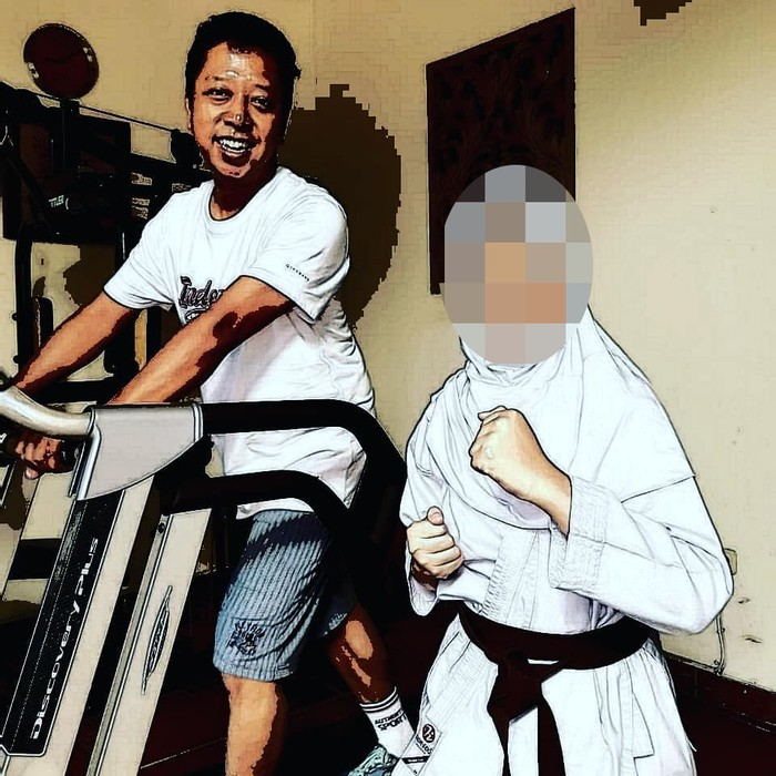 Romahurmuziy termasuk tokoh yang peduli terhadap kesehatan, terbukti beberapa kali ia mengunggah momen saat dirinya berolahraga. (Foto: Instagram/romahurmuziy)