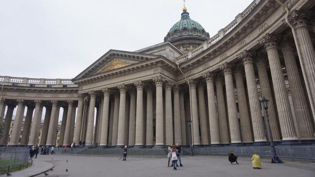Kazan Cathedral, Gereja Megah di St Petersburg Rusia
