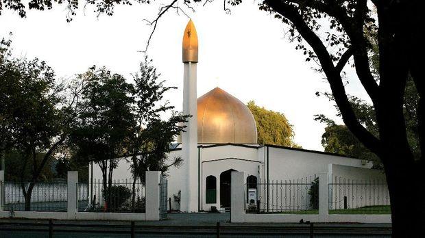 Masjid Al-Noor, Christchurch, Selandia Baru.