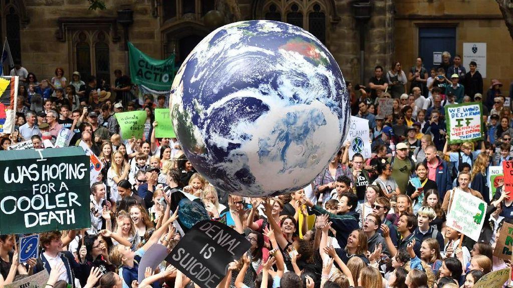 Ribuan Pelajar di Australia Galakkan Aksi Perubahan Iklim