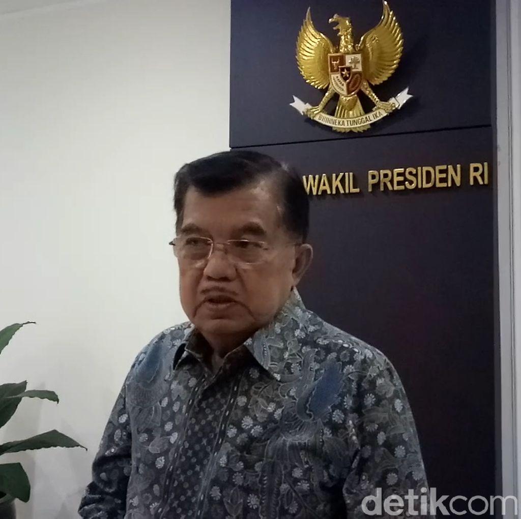Jokowi Menang Pilpres, JK: Etisnya yang Kalah Hubungi yang Menang