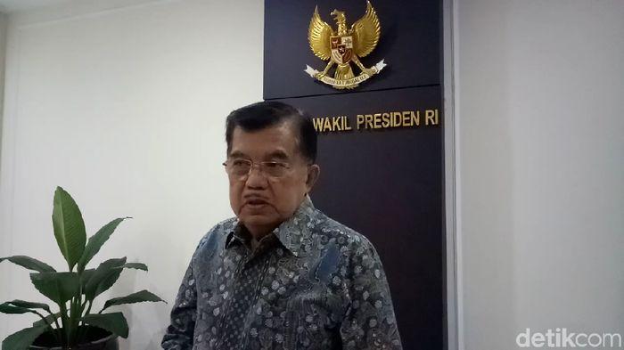 Foto: Wapres Jusuf Kalla atau JK (Muhammad Fida Ul Haq/detikcom)