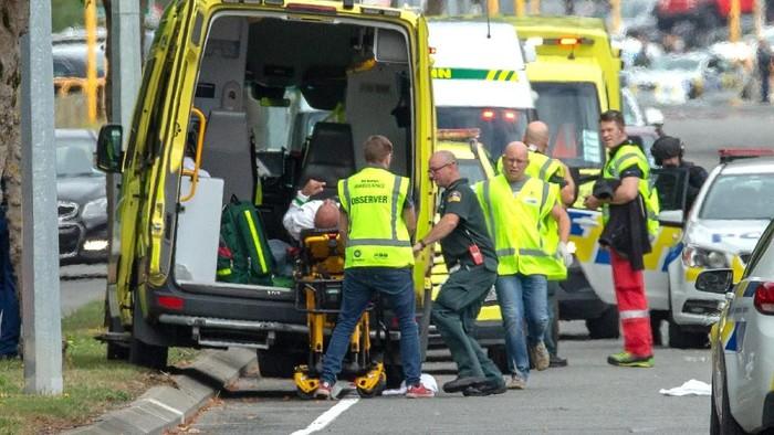 penembakan massal di masjid Selandia Baru (Foto: Reuters)