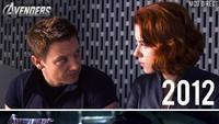 Banyak yang menanti kisah romansa antara Black Widow dan Hawkeye.Dok. Twitter
