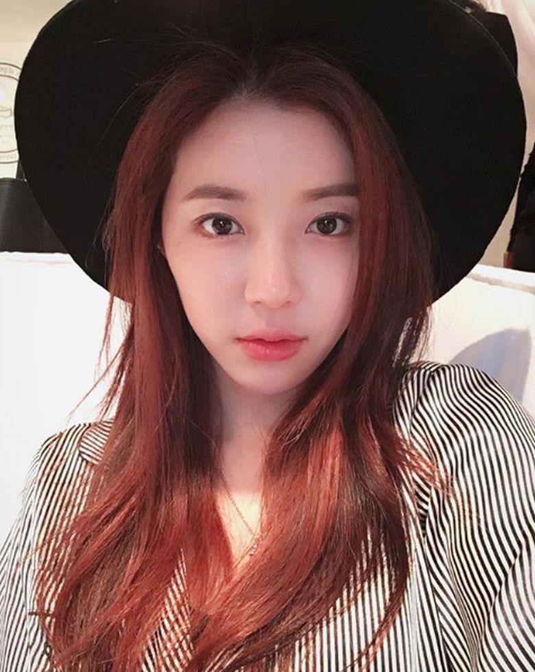 Park Han Byul jadi masuk dalam pusara kasus Seungri.Dok. Instagram/onestar_p