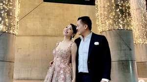 Kemesraan Calon Manten Dimas Anggara dan Nadine Chandrawinata