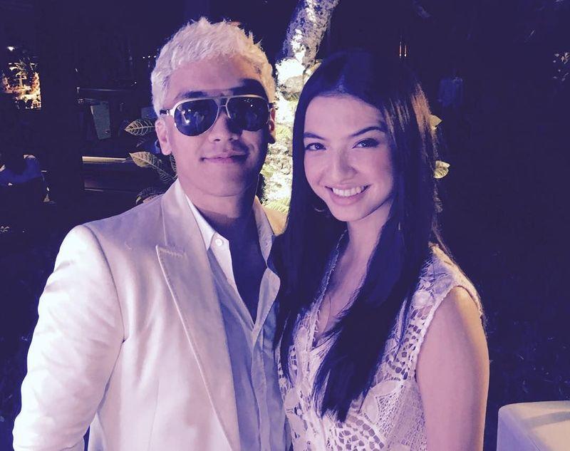 Seungri saat di Bali juga bertemu dengan artis cantik Indonesia, Raline Syah. (seungriseyo/Instagram)