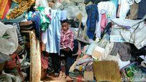 Miris, Sekeluarga di Purworejo Ini Hidup di Tengah Barang Rongsok