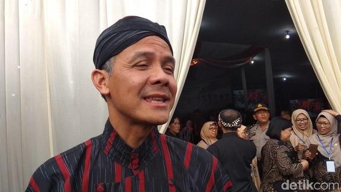 Gubernur Jawa Tengah, Ganjar Pranowo di Magelang, (15/3/2019)