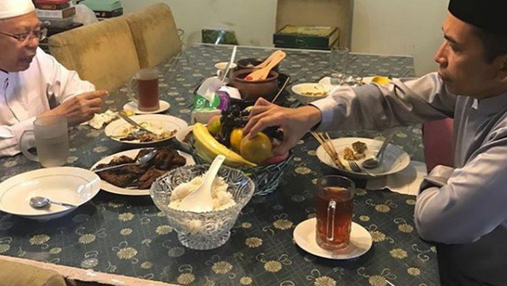 Hobi Gelar Jamuan Makan di Rumah, Ini Menu Suguhan Maruf Amin