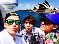 Liburannya di Sydney, Australia. (seungriseyo/Instagram)