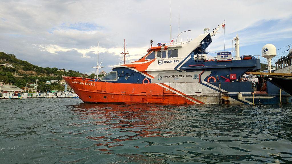 BRI Layani Masyarakat Kepulauan di NTT Pakai Bank Terapung