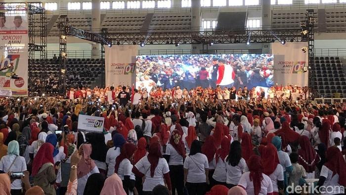 Capres petahana Joko Widodo (Jokowi). (Ray Jordan/detikcom)