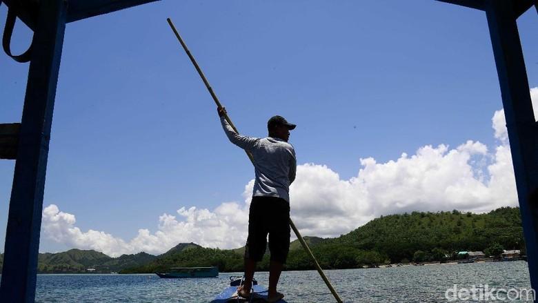 Ilustrasi nelayan di TN Komodo (Dikhy Sasra/detikcom)