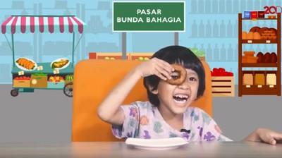 Ekspresi Gemas Anak Komen Cicip Kue Jajanan Pasar Pertama Kali