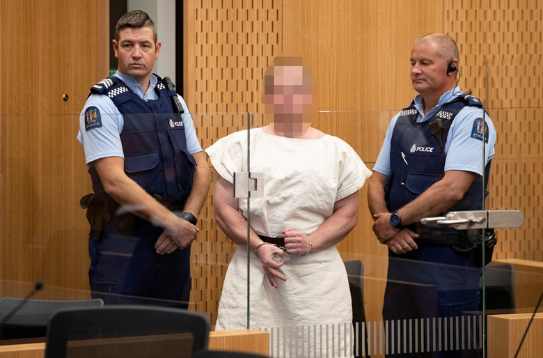 PelakuPenembakan di Masjid New Zealand Didakwa Lakukan Pembunuhan